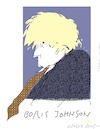 Cartoon: Boris Johnson (small) by gungor tagged britain