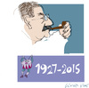 Cartoon: Gunter Grass  2 (small) by gungor tagged germany