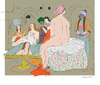 Cartoon: Harem (small) by gungor tagged painter