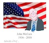Cartoon: John McCain (small) by gungor tagged usa