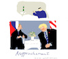 Cartoon: Rapprochement (small) by gungor tagged usa