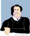 Cartoon: Riccardo Muti (small) by gungor tagged italy