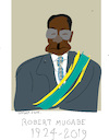 Cartoon: Robert Mugabe (small) by gungor tagged zimbabwe