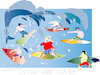Cartoon: Second Wave (small) by gungor tagged pandemic