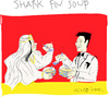 Cartoon: Shark Fin Soup (small) by gungor tagged marin,life