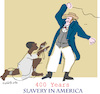 Cartoon: Slavery in America (small) by gungor tagged usa