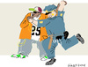 Cartoon: So You Think You Can Dance (small) by gungor tagged usa