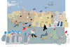 Cartoon: United Nation (small) by gungor tagged syria