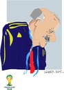 Cartoon: V.Del Bosque (small) by gungor tagged brazil2014