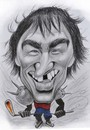 Cartoon: Alexander Ovechkin (small) by Tomek tagged ovechkin