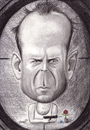 Cartoon: Bruce Willis (small) by Tomek tagged bruce,willis