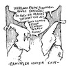 Cartoon: Ermittler unter sich (small) by JP tagged kkk,ku,klux,klan,experten,nsu