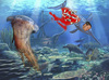 Cartoon: piranhas (small) by Summa summa tagged piranhas