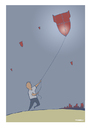 Cartoon: Children in War (small) by pv64 tagged war,children,cartoon,bomb,unhappy