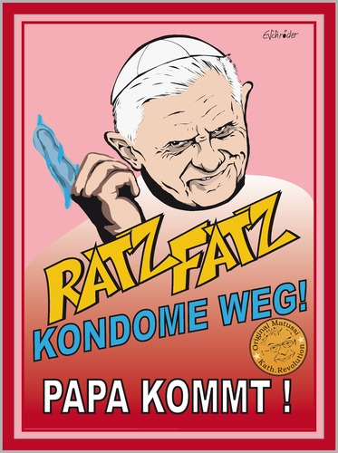 ratz fatz by eschr der religion cartoon toonpool. Black Bedroom Furniture Sets. Home Design Ideas
