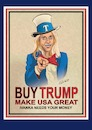 Cartoon: BUY TRUMP (small) by ESchröder tagged kellyanne,conway,topberaterin,des,präsidenten,der,usa,donald,trump,ivanka,modemarke,nordstrom,kaufkette,dropping,kritik