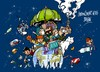 Cartoon: Bonn-Cumbre del Clima (small) by Dragan tagged bonn,alemanisa,cumbre,del,clima,politics,cartoon