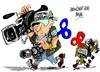 Cartoon: Dia Mundial (small) by Dragan tagged dia,mundial,de,la,libertad,prensa