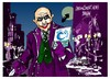 Cartoon: Jenaro Garcia-Gowex-Gotham (small) by Dragan tagged jenaro,garcia,gowex,gotham,wifi,negocio,cartoon