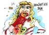 Cartoon: Madonna-gira rusa (small) by Dragan tagged madonnagira,rusia,san,petersburgo,homosexuales,pussy,riot