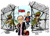 Cartoon: Merrill Newman-Corea del Norte (small) by Dragan tagged merrill,newman,corea,del,norte,pyongyang,politics,cartoon