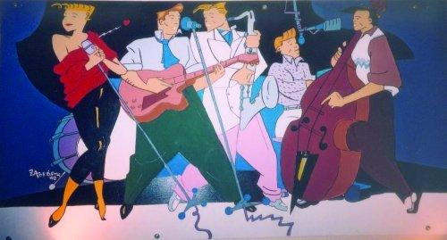 Cartoon Jazz Band Cartoon All That Jazz