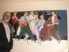 Cartoon: music in the living room (small) by johnxag tagged music,musicians,johnxag