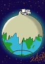 Cartoon: save the planet (small) by johnxag tagged johnxag,planet,concrete