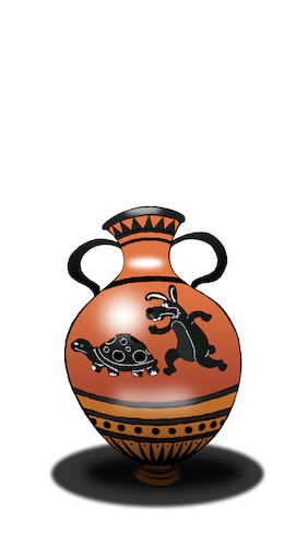 Cartoon: Ancient Greek Vase... (medium) by berk-olgun tagged ancient,greek,vase