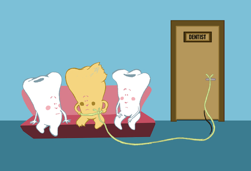 Cartoon: Dentist... (medium) by berk-olgun tagged dentist