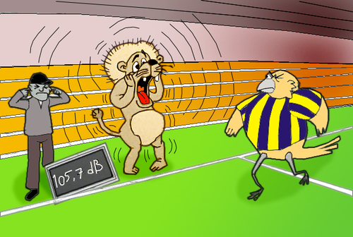 Cartoon: For Fenerbahce.. (medium) by berk-olgun tagged for,fenerbahce