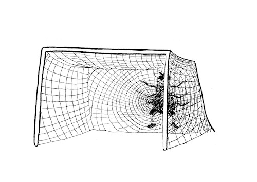 Cartoon: Goal Keeper... (medium) by berk-olgun tagged goal,keeper