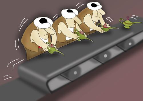 Cartoon: Quality Control.. (medium) by berk-olgun tagged quality,control