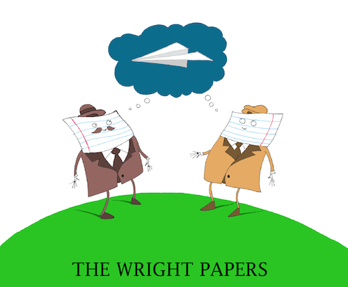 Cartoon: The Wright Papers... (medium) by berk-olgun tagged the,wright,papers