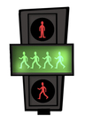 Cartoon: Abbey Road-Traffic Light.. (small) by berk-olgun tagged abbey,road