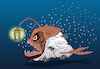 Cartoon: Angler Fish... (small) by berk-olgun tagged angler,fish