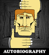 Cartoon: Autobiography... (small) by berk-olgun tagged autobiography