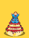 Cartoon: Birthday... (small) by berk-olgun tagged birthday