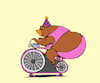 Cartoon: Circus Bear... (small) by berk-olgun tagged circus,bear