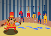Cartoon: Circus Monkey... (small) by berk-olgun tagged circus,monkey