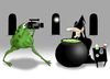 Cartoon: Cooking Show.. (small) by berk-olgun tagged cooking show