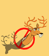 Cartoon: Deer Ban... (small) by berk-olgun tagged deer,ban