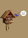 Cartoon: Deja Vu... (small) by berk-olgun tagged deja,vu