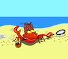Cartoon: Detective Crab... (small) by berk-olgun tagged detective,crab
