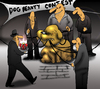Cartoon: Dog Beauty Contest... (small) by berk-olgun tagged dog,beauty,contest