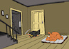 Cartoon: Dog of Death... (small) by berk-olgun tagged dog,of,death