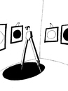 Cartoon: Exhibition... (small) by berk-olgun tagged exhibition