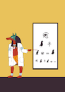 Cartoon: Eye Doctor... (small) by berk-olgun tagged eye,doctor