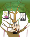 Cartoon: Family Tree.. (small) by berk-olgun tagged family,tree
