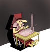 Cartoon: Hieroglyph... (small) by berk-olgun tagged hieroglyph